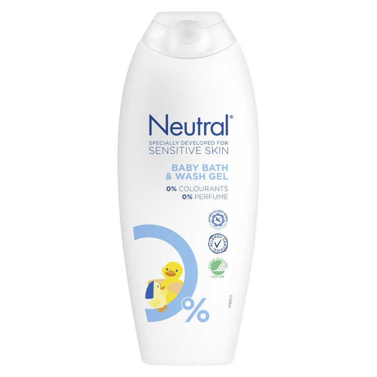 Neutral Baby Bath and Washgel